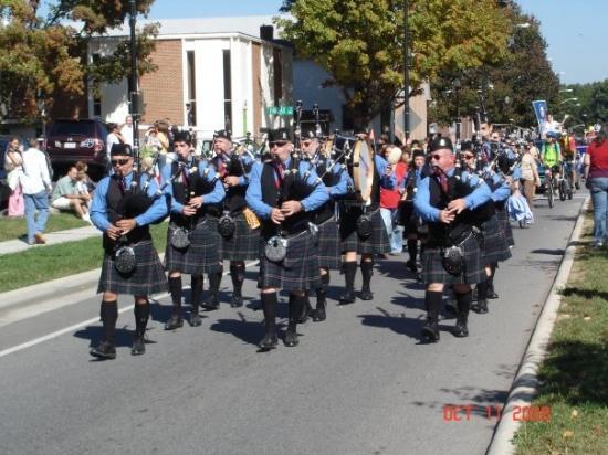 แรดฟอร์ด, เวอร์จิเนีย: Highlander Parade 2008, Radford, VA
