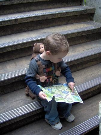 Renton, WA: At least with Evan giving us 'amazing' 3yr old map reading skills we'd never get lost.