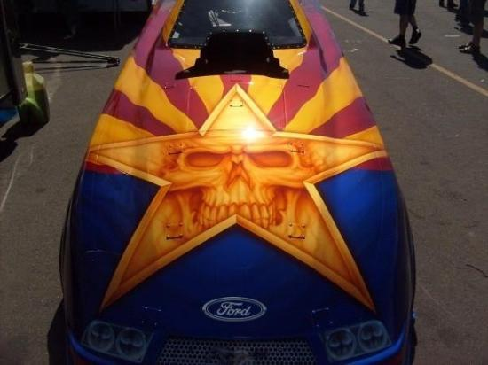 Gila Bend, AZ: Awesome Airbrush