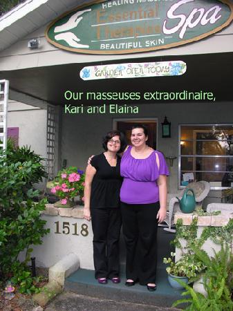Essential Therapies Garden Spa : Great massages, wonderful people. We plan to return!