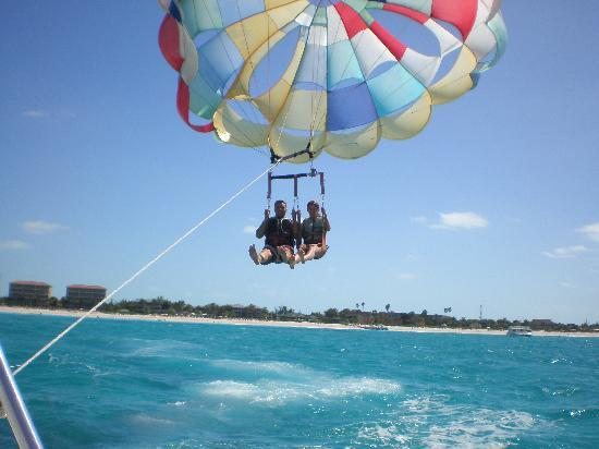 The Tuscany: Go Parasailing with Captain Marvin
