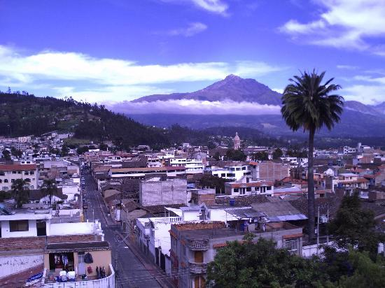 Hostal Chasqui: Vista desde la terraza del hostal