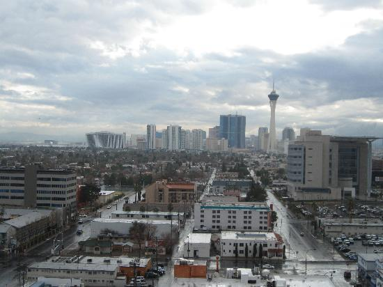 El Cortez Hotel & Casino: View from room 1403