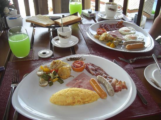 Nora Buri Resort & Spa : breakfast