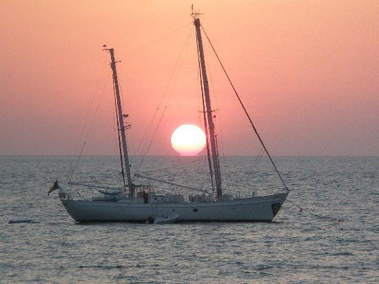 Novotel Phuket Surin Beach Resort. : couché de soleil de la plage de surin