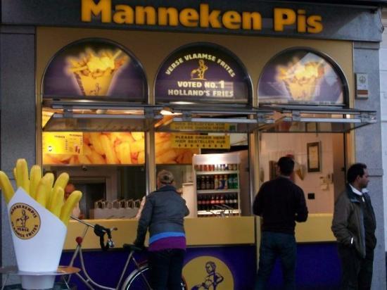Manneken Pis Amsterdam Photo