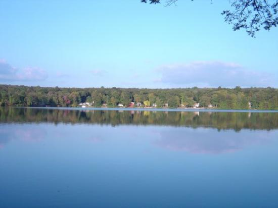 East Haddam, CT: Lake Hayward in September