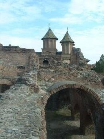 Princely Court: Castle ruins at Tirgoviste, Romania.