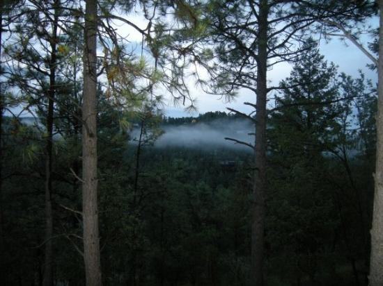 Ruidoso, Nuovo Messico: same view the next morning