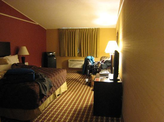 Ramada Whitehall/Allentown: Facing window, TV on right