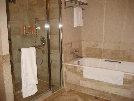 Bathtub Shower Picture Of The Lees Hotel Kaohsiung Lingya