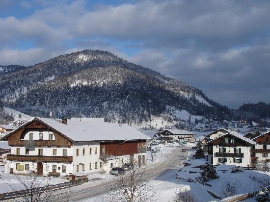 Achenkirch, Avusturya: View from Pension Panorama