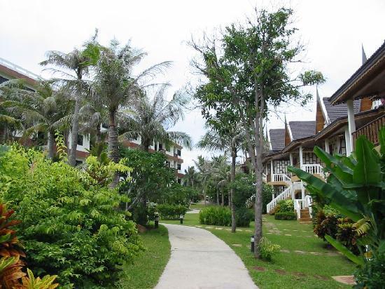 Thai Ayodhya Villas & Spa: Weg entlang der Villen