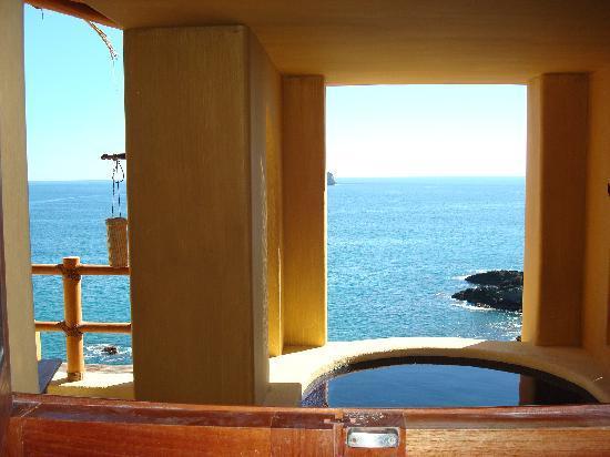 Cala de Mar Resort & Spa Ixtapa: View from Shower