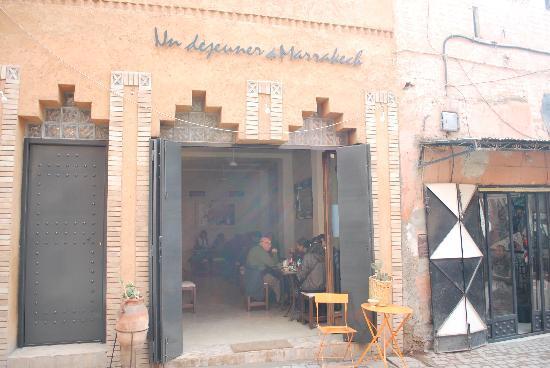 Un Déjeuner à Marrakech : L'ingresso