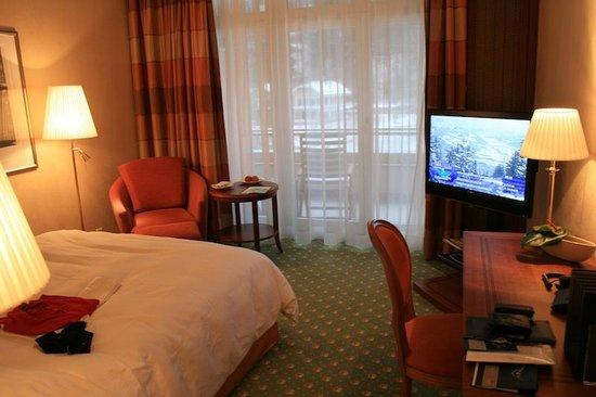 Grand Hotel Quellenhof & Spa Suites: Picture of our room