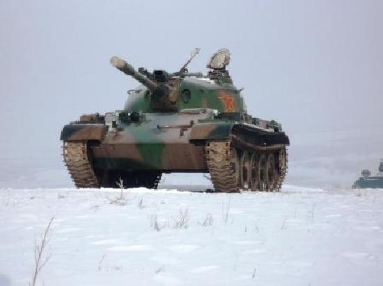 World Antifascist War Haila'er  Memorial Park : 戦車