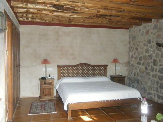 Hotel Rural Can Pujolet: Bedroom