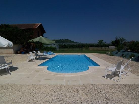 Charlan Bed & Breakfast: 10m x 5m Pool