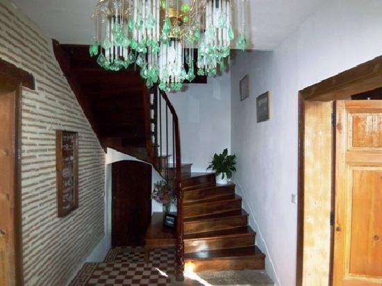 Charlan Bed & Breakfast: Stairs leading to Guest Rooms