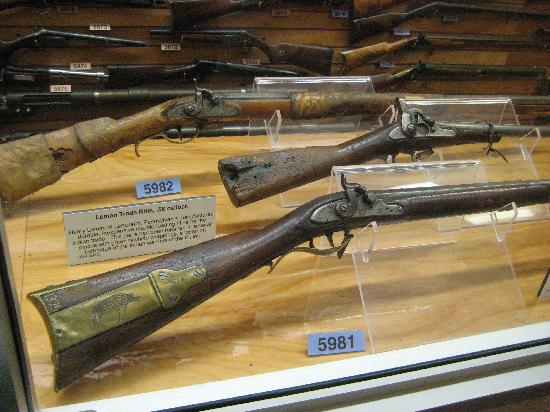 Rock Island Arsenal Museum: Rifles Captured from Native Americans