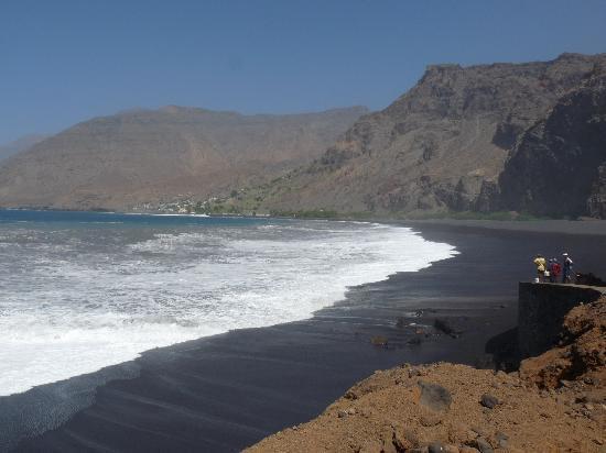 Santo Antao, Cabo Verde: la plage