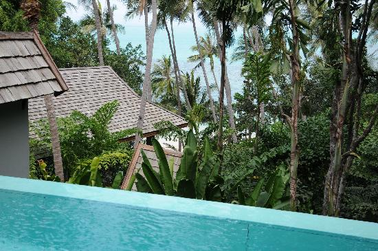 Four Seasons Resort Koh Samui Thailand: View from villa 907