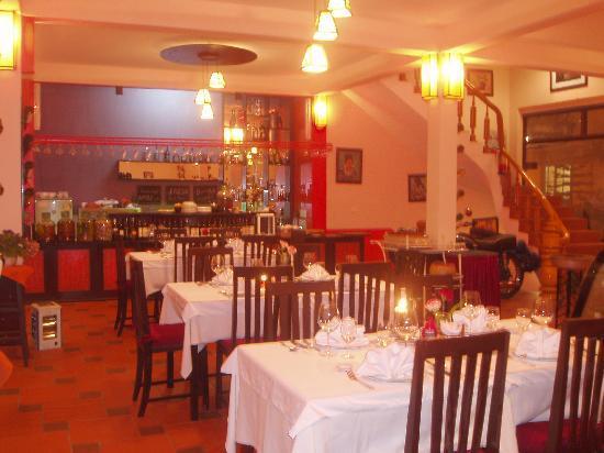 Boutique Sapa Hotel restaurant: in the restaurant 2