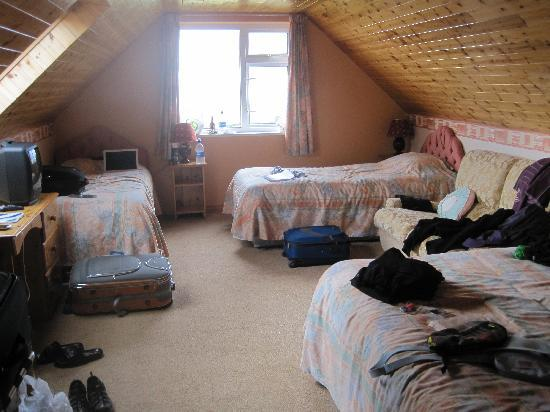 Renvyle, Ireland: Triple Room