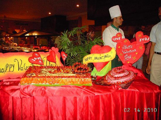 Hauza Beach Resort: A special effort on Valantine Night in the Restaurant