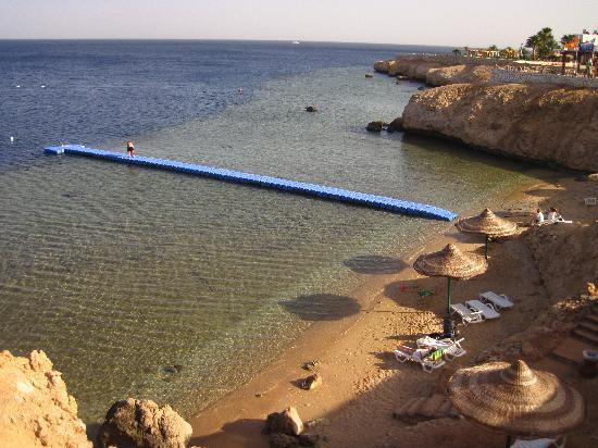 Sharm Club Resort: Quay at  Sharm club to take you out to the amazing marine life