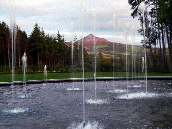 Powerscourt Hotel, Autograph Collection: View of Sugar Loaf Mountain from Hotel Garden
