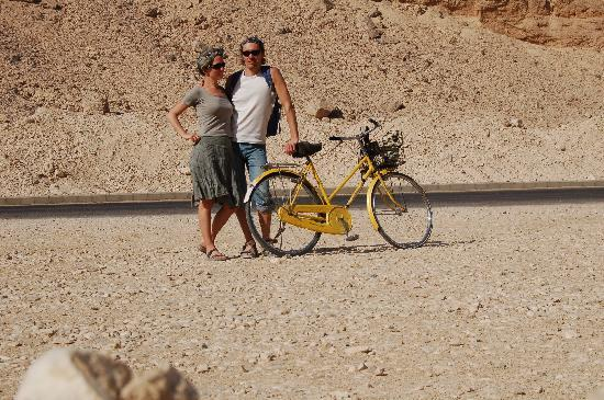 Amon Hotel Luxor: King Valley by bike