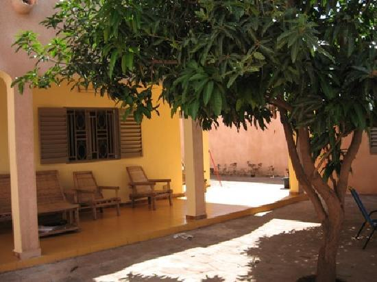Ambassagou: the nice courtyard