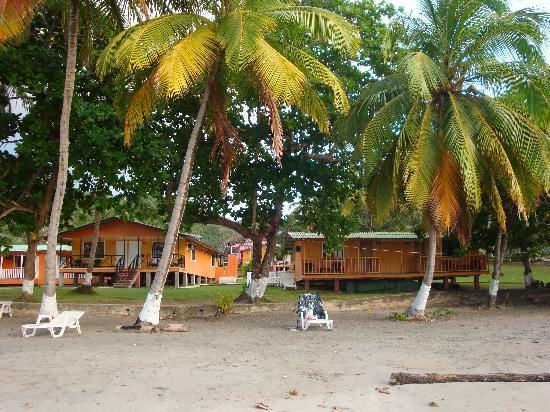 Cabanas El Recreo : vista desde la playa