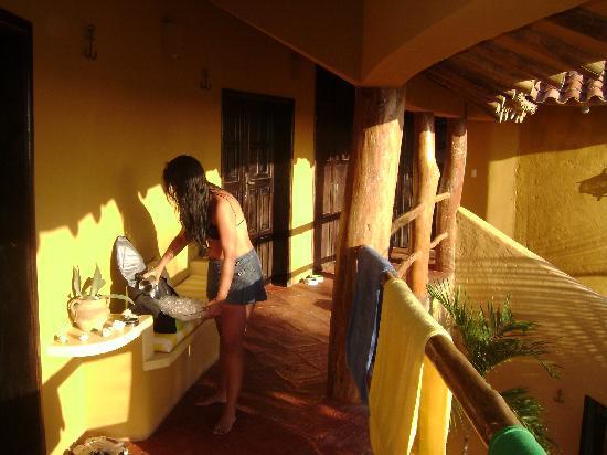 StevieWonderLand: pasillo de las habitaciones