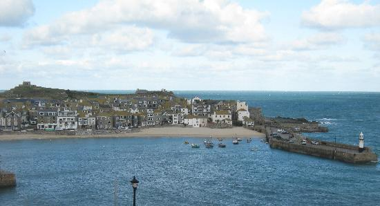View of st ives harbour from room 3 foto di the rookery for 22 the terrace st ives
