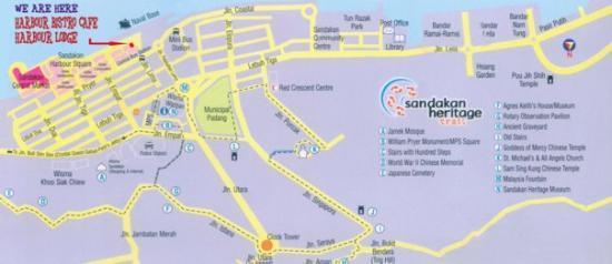 Sandakan Map Picture of Sandakan Sandakan Division TripAdvisor