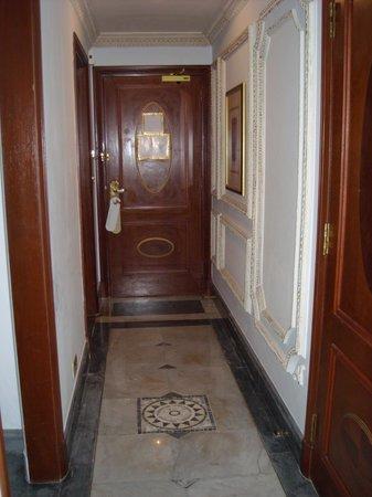 InterContinental Dar Al Tawhid : the entrance