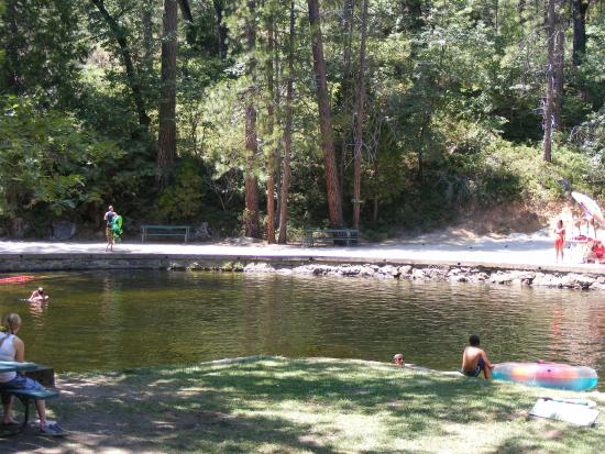 Friends of San Jose Family Camp : The swimming hole