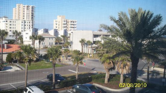 Fairfield Inn & Suites Jacksonville Beach: View from window