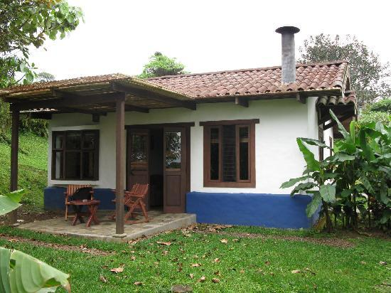 Villa Blanca Cloud Forest Hotel and Nature Reserve: Our cabin