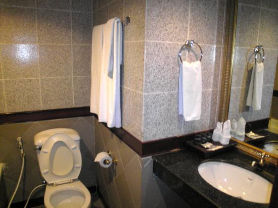 The Elegance Suites: bathroom