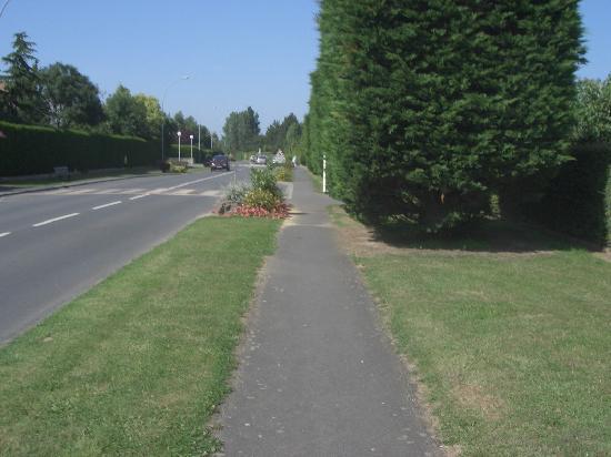 Caen, Frankrig: 自転車専用道