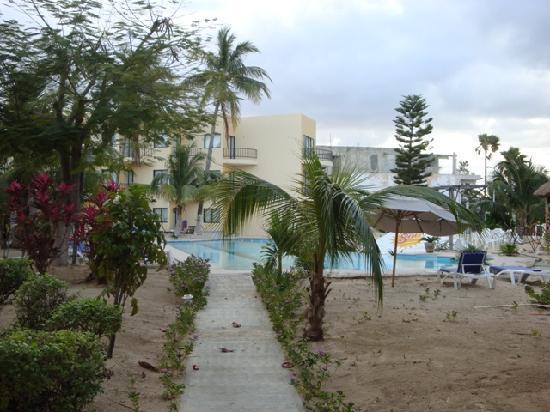 Hotel Posada Del Mar : The pool