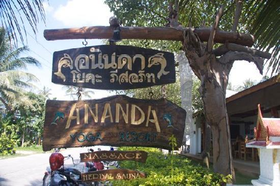 Ananda Wellness Resort: Ananda Entrance