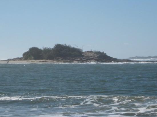 Island off Maroochydore
