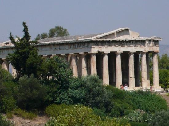 Temple of Hephaestus: Temple of Hephaistos (Ancient Agora)