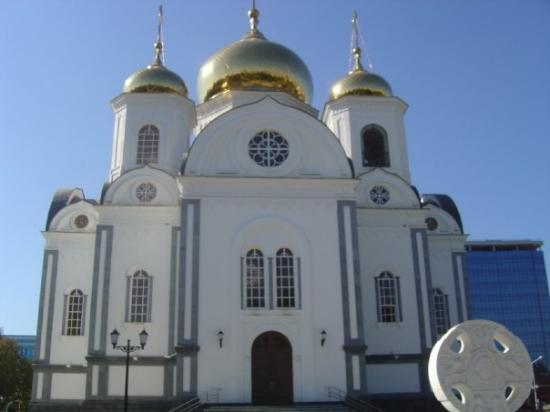 Church in Krasnodar Russia