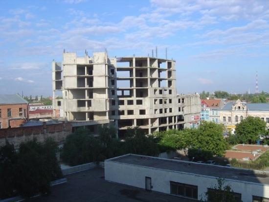 Krasnodar, Russia: View from one of many Hotel rooms
